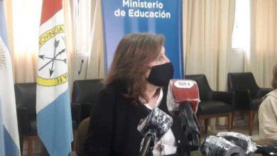 """Photo of Cantero: """"Si nos cuidamos, iremos incorporando más escuelas a las clases presenciales"""""""