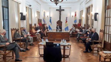 """Photo of El gobernador presentó ante la Corte el plan """"Santa Fe Más Justicia"""""""