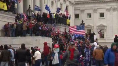 Photo of Tensión en Washington: seguidores de Trump entraron a la fuerza en el Capitolio