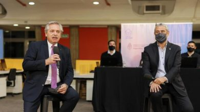 """Photo of Fernández: """"Argentina empieza a moverse y se vuelve a crear empleo"""""""